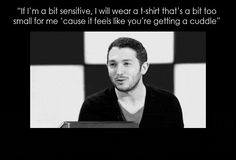 Although not as painfully adorable as when he admitted this: | 21 Times Jon Richardson Was The Cutest Man In Britain