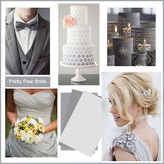 {Color Inspiration Tuesday} Contemporary Grey || Pretty Pear Bride