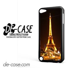 Night Scane Paris Eiffel Tower DEAL-7730 Apple Phonecase Cover For Ipod Touch 5