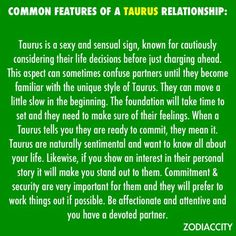 Common relationship features