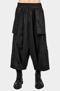 Mens Cotton Linen Cargo Harem Hippie Solid Pants Loose Dungaree Bloomers Trouser