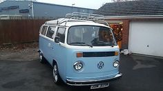 eBay: 1975 VW T2 Camper with Trailer