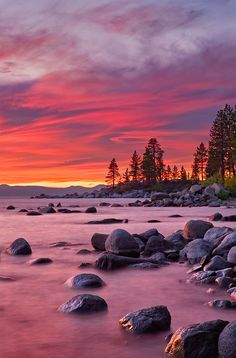 Lake Tahoe and Zephyr Cove, California