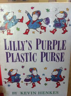 Make your own purple plastic purse craft for Lilly's Purple Plastic Purse, by Kevin Henkes.