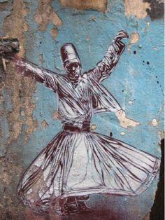 Sufi Streetart