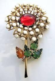 red milk glass jewelry - Google Search