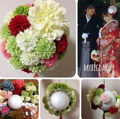 east side tokyo フラワー館 和装ブーケ Wedding Photos, Floral Wreath, Wreaths, Decor, Flowers, Marriage Pictures, Floral Crown, Decoration, Door Wreaths