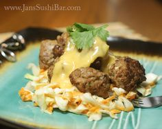 Vietnamese Meatballs. All the bright flavors of a classic Banh Mi sandwich without the bread!
