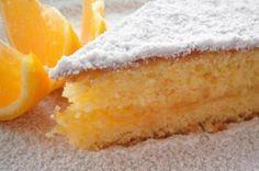 Torta de naranja con masa licuada