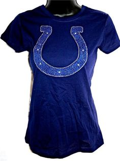 Indianapolis Colts Bling Sparkle Jersey Top