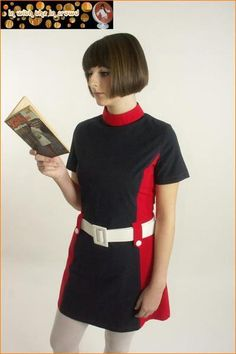 Vintage Dress by Mary Quant 1960's
