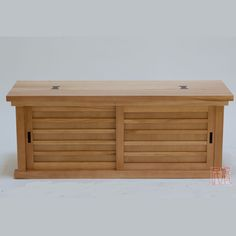 Japanese shoe chest