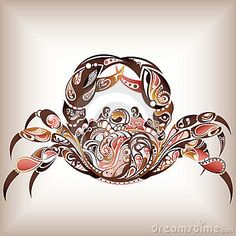 Zodiac Cancer by Ka Ho Leung, via Dreamstime