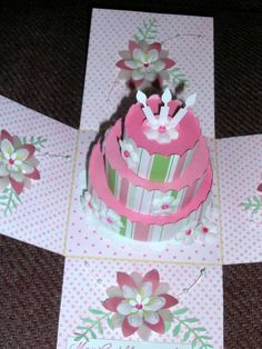 Explosion Sweet 16 open by !aah - Cards and Paper Crafts at Splitcoaststampers