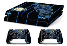 Skin PS4 WhiteP HD INTER ULTRAS INTERNAZIONALE limited edition Playstation 4 COVER DECAL