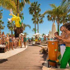 #BrazilPoolParty just one example of our best moments!. Come and live on first person!  Brazil Pool Party es sólo un ejemplo de nuestros mejores momentos. Ven a vivirlo en primera persona!  #AmàreMarbella #AmareParty #Marbella #CostadelSol