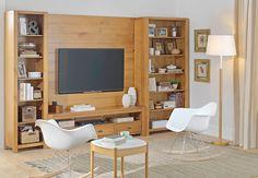 Tok&Stok Homecinema Dê mais originalidade ao home cinema com as cadeiras de balanço assinadas pelo casal Eames.