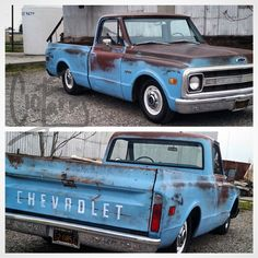 """200 Likes, 10 Comments - Nic Trujillo (@c10farm) on Instagram: """"This is one nice 1969 c10 For Sale!! OWNER : @sonu.sharma.564➖➖➖➖➖➖➖➖➖➖➖ #c10 #patina #chevy…"""""""