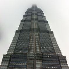 Jing Mao Tower, Pudong, Shanghai, China