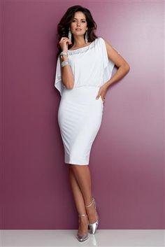 Cutout-Back-Blouson-Dress