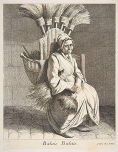 Balais Balais, Broom Peddler, 1737, Anne Claude Philippe de Tubières, Comte de Caylus (French, Paris 1692–1765 Paris)