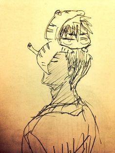 Aomine and Kagami // KnB