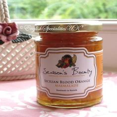 Season's Bounty】Sicilian Blood Orange Marmalade シーズンズ・バウンティ シチリア ブラッドオレンジ マーマレード