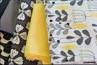 gray white yellow fabric - Google Search