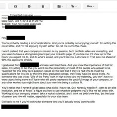 Worst Cover Letter Ever
