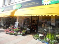 Susan's flower shop in Paignton, Torbay, Devon.