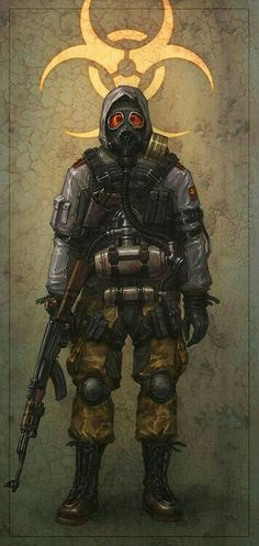 Future, Futuristic, Post-Apocalyptic, Survival, ripperdoc: postap soldier by Banderlog - Artyom Vlaskin - CGHUB Post Apocalyptic Art, Post Apocalyptic Fashion, Cyberpunk, Character Concept, Character Art, Concept Art, Post Apocalypse, Zombies, R6 Wallpaper