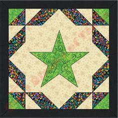boot+quilt+block+pattern | Texas Rangers Quilt Pattern | Quilt Blocks of Texas