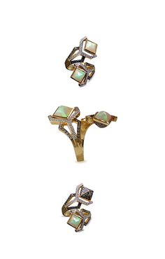 Opal Pirouette ring from Sharart Design