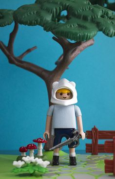 Playmobil custom Finn Adventure Time