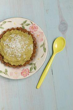 Tartelettes vertes aux pois cassés