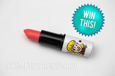Win it! Giveaway for MAC Cosmetics Betty Bright lipstick from the Archie's Girls collection at Cosmetics Aficionado