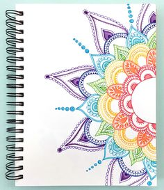 mandala+in+sketchbook.jpg 1,381×1,600 pixels