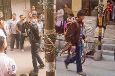 In Pics: SRK shoots for Fan on the streets