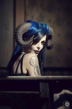 devil's charm by iNBLACK cesare - Photo 77076657 / 500px.  Source: https://500px.com/photo/77076657/devil-s-charm-by-inblack-cesare Model: Riae Suicide  #beauty #glamour #devil #charm #ria #suicidegirls #cesare #riae #longhi #inblack #suicie