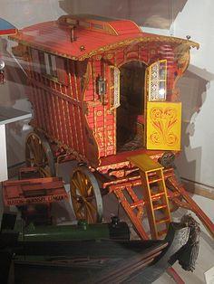 Gypsy Caravan Model by Thorskegga, via Flickr