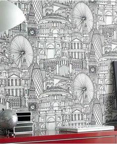 Graham & Brown wallpaper: Londinium