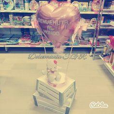 #dolcemania #palloncini #sangiovannirotondo #puglia #mongolfiera #cuore #nascita