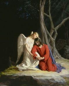 Gethsemane (Castle Version) by Carl Bloch