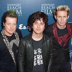 Green day...only Billie Joe can make an old ratty  Cheap Trick T-Shirt look like high fashion and hot as hell.