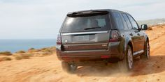 The 2013 #LandRover LR2 goes off-road.
