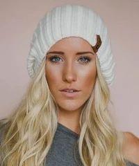 leather beanie – Made4Walkin Ear Warmer Headband, Boho Green, Perfect Image, Ear Warmers, Slouch Hats, Chic Outfits, Winter Hats, Stockings, Ivory