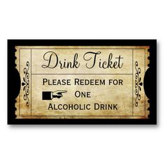 drink tickets template koni polycode co