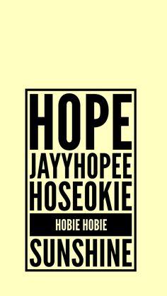 BTS J-HOPE LOCKSCREEN WALLPAPER JUNG HOSEOK