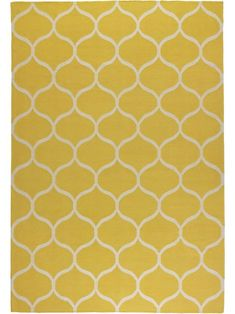 I've been looking for a yellow rug and this might be it!. Yellow rug from forthcoming IKEA Stockholm collection.