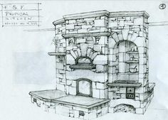 Masonry heater design by John Fisher